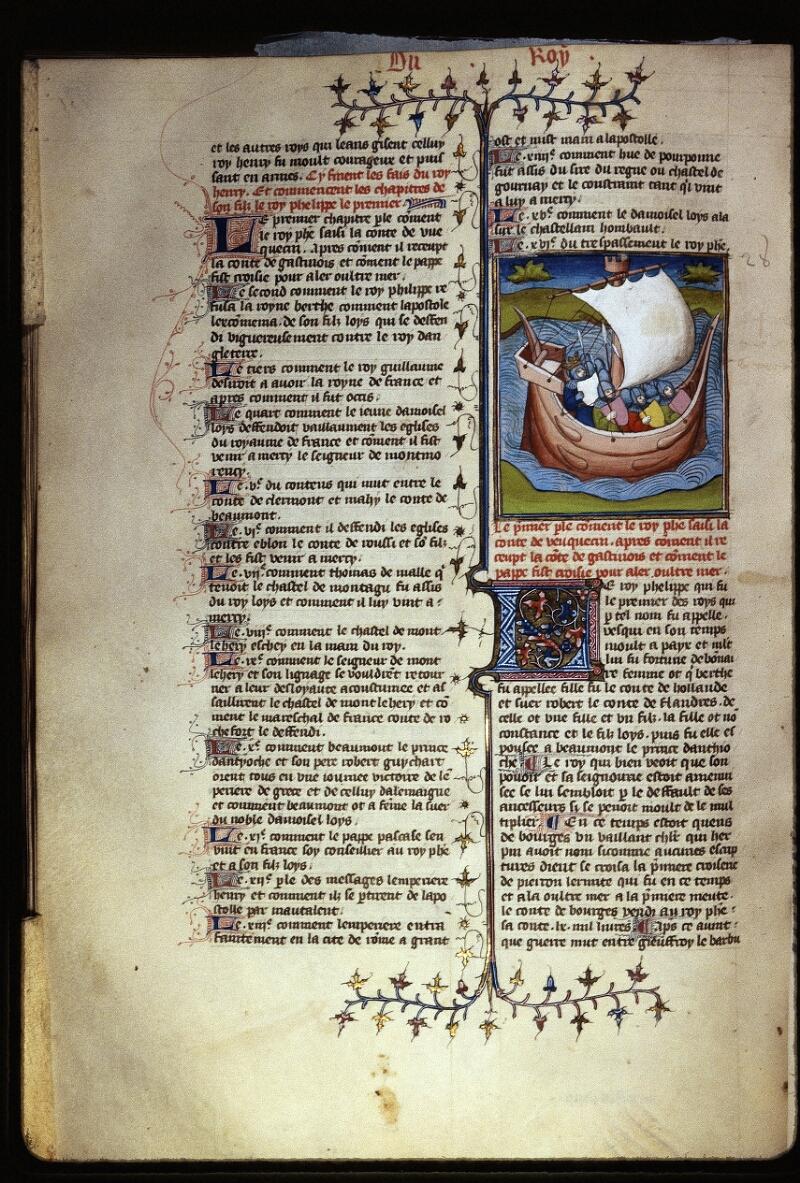 Lyon, Bibl. mun., ms. Palais des Arts 030, f. 180v - vue 1