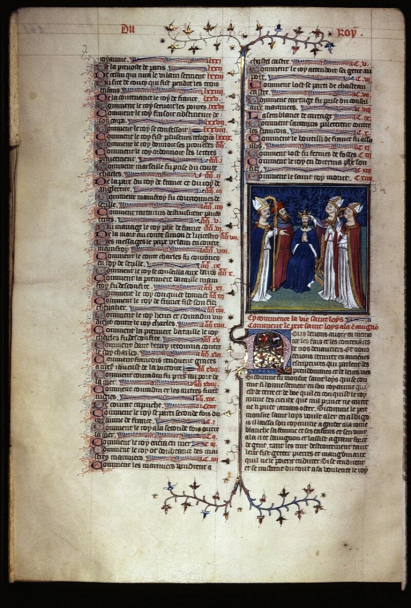 Lyon, Bibl. mun., ms. Palais des Arts 030, f. 265v - vue 1