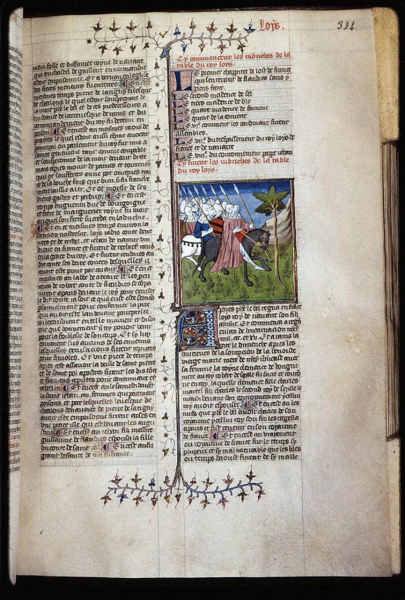 Lyon, Bibl. mun., ms. Palais des Arts 030, f. 334 - vue 1