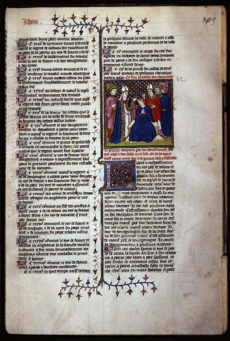 Lyon, Bibl. mun., ms. Palais des Arts 030, f. 381 - vue 1