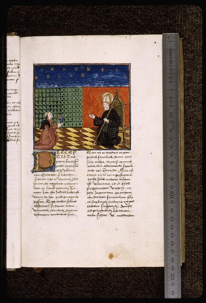 Lyon, Bibl. mun., ms. Palais des Arts 034, f. 002 - vue 1