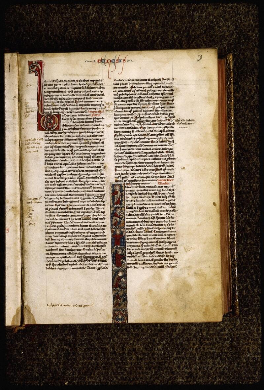 Lyon, Bibl. mun., ms. Palais des Arts 035, f. 003 - vue 1