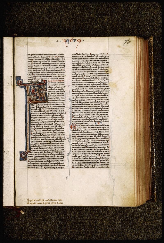 Lyon, Bibl. mun., ms. Palais des Arts 035, f. 076 - vue 1