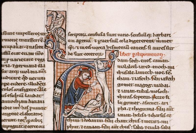 Lyon, Bibl. mun., ms. Palais des Arts 035, f. 110