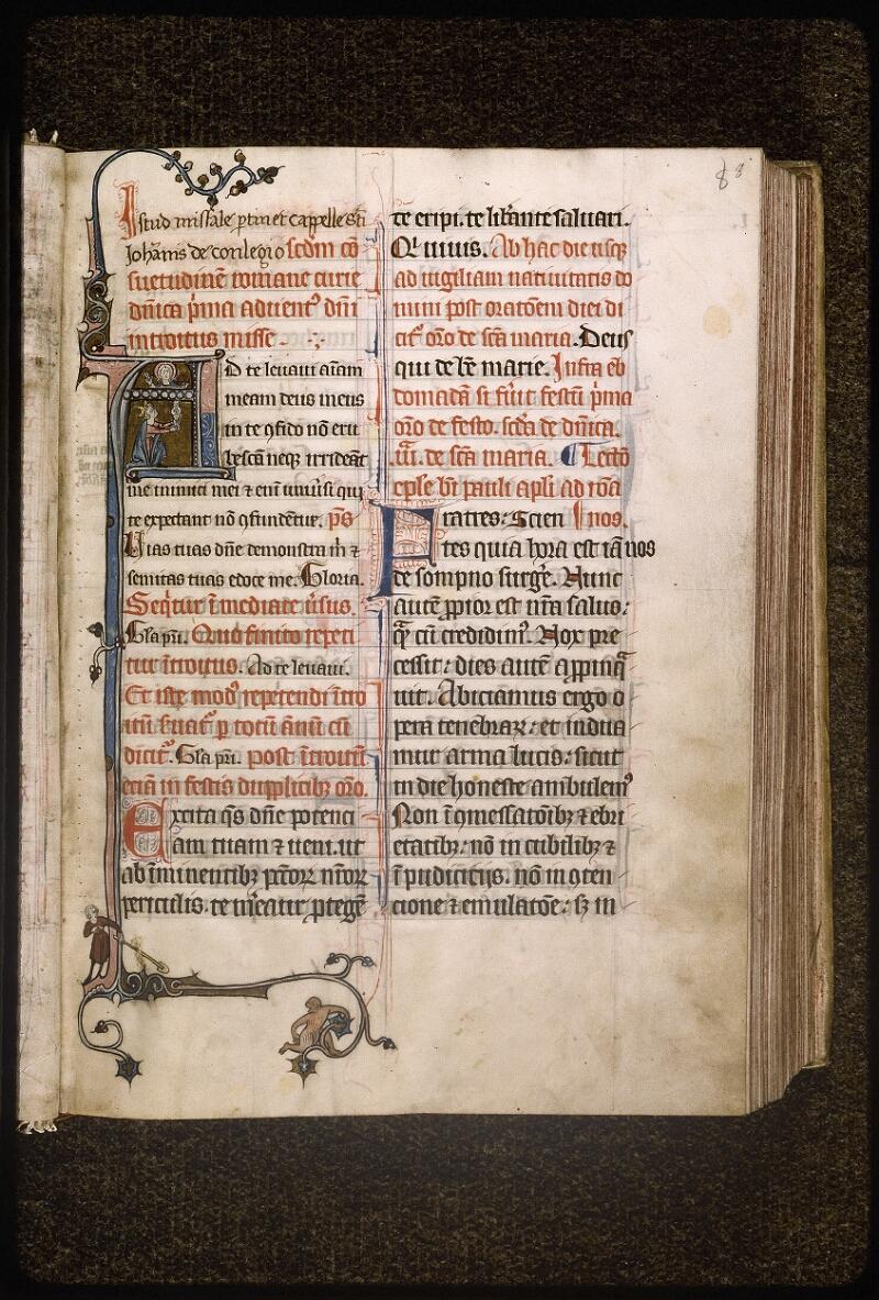 Lyon, Bibl. mun., ms. Palais des Arts 037, f. 008 - vue 2