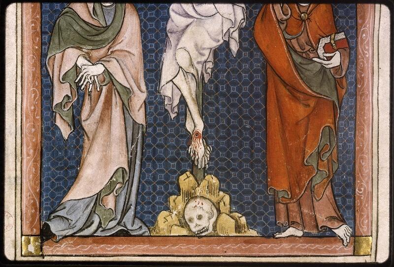 Lyon, Bibl. mun., ms. Palais des Arts 037, f. 127v - vue 3