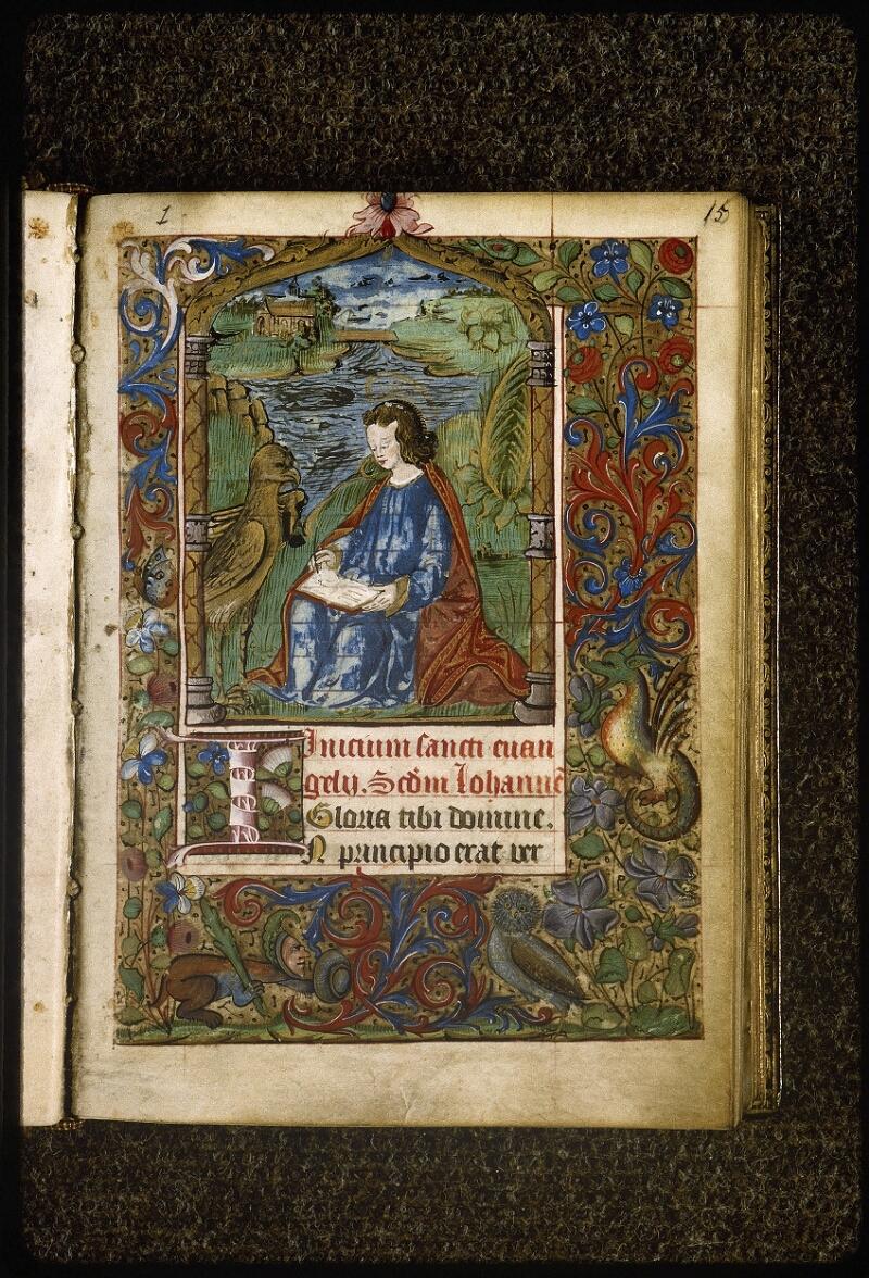 Lyon, Bibl. mun., ms. Palais des Arts 038, f. 015 - vue 2