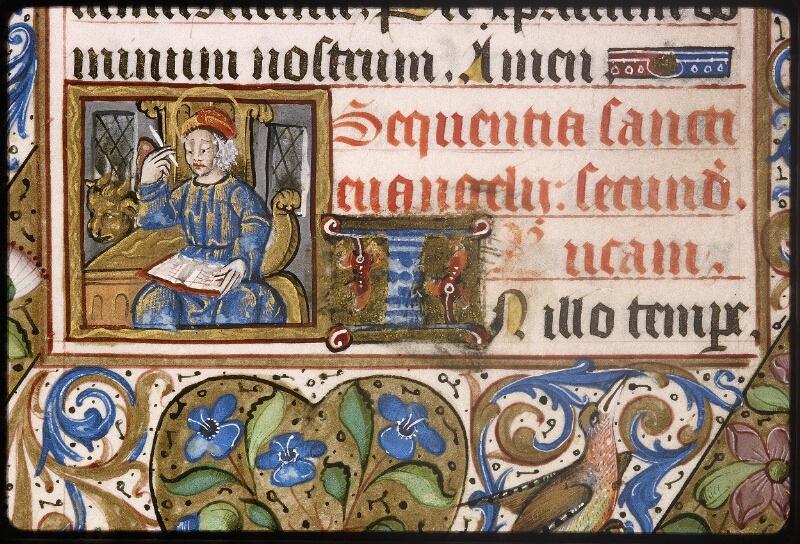 Lyon, Bibl. mun., ms. Palais des Arts 038, f. 016v - vue 2