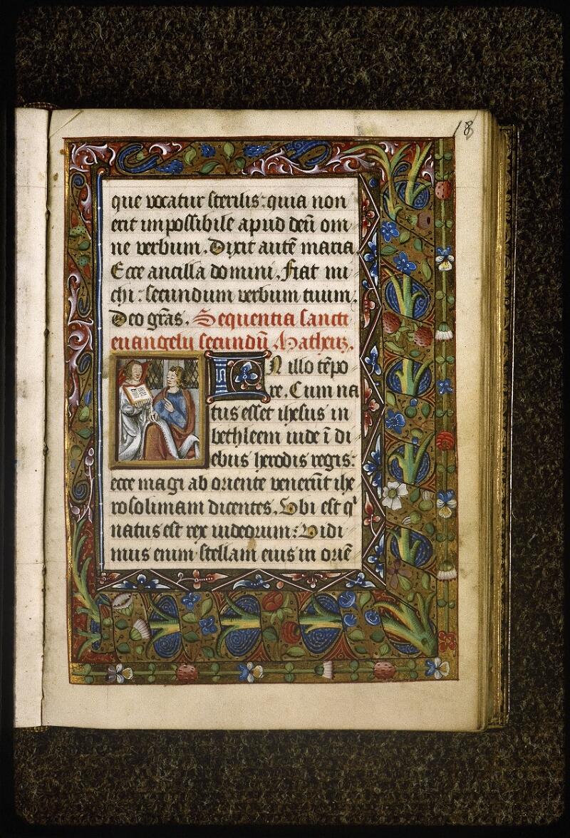 Lyon, Bibl. mun., ms. Palais des Arts 038, f. 018 - vue 1