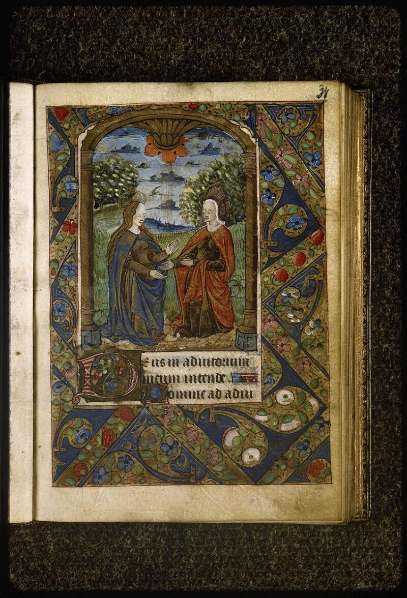 Lyon, Bibl. mun., ms. Palais des Arts 038, f. 031 - vue 1