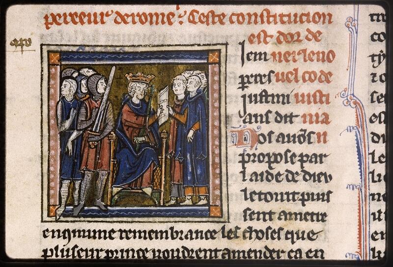 Lyon, Bibl. mun., ms. Palais des Arts 043, f. 001 - vue 3