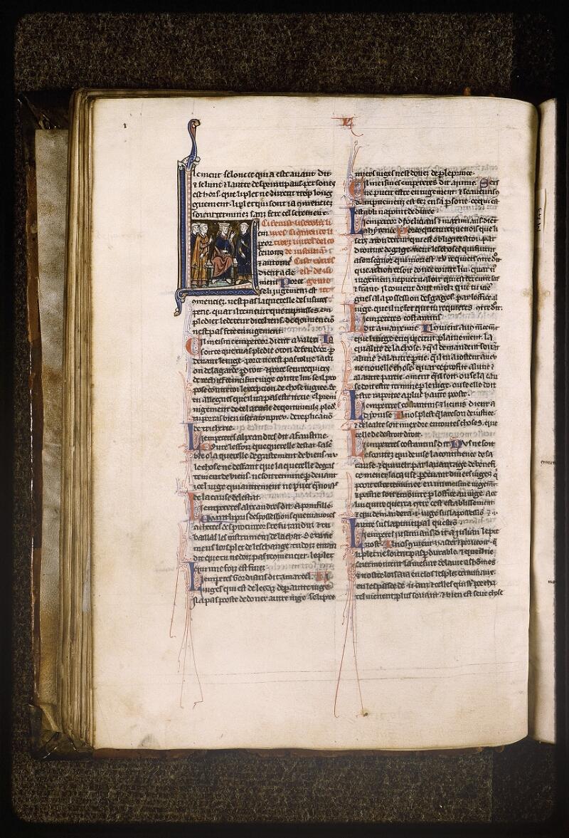 Lyon, Bibl. mun., ms. Palais des Arts 043, f. 056v - vue 1