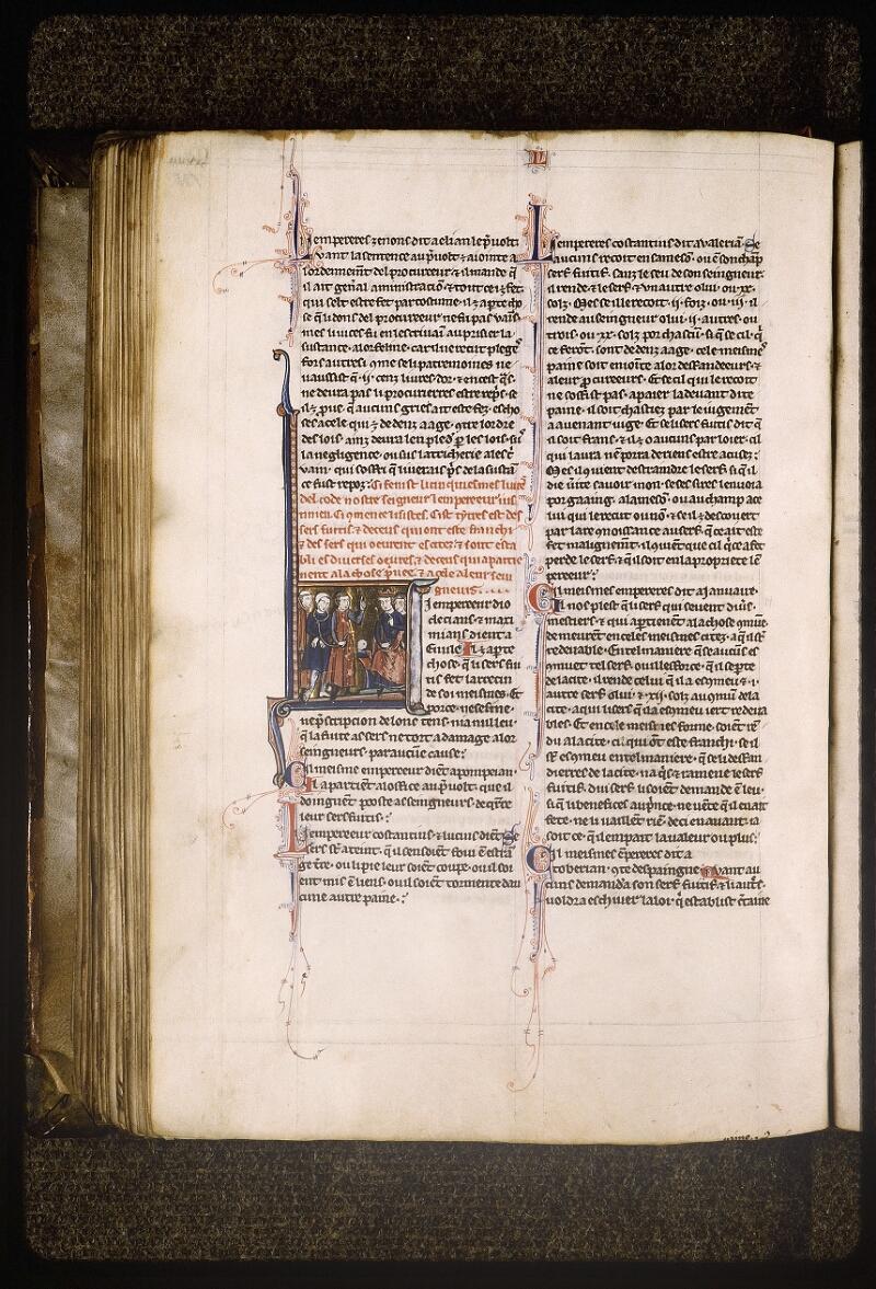 Lyon, Bibl. mun., ms. Palais des Arts 043, f. 151v - vue 1