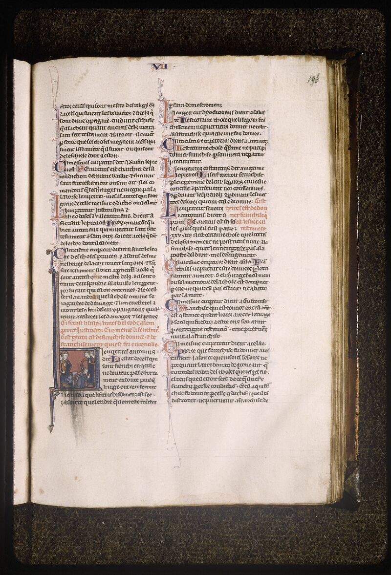 Lyon, Bibl. mun., ms. Palais des Arts 043, f. 196 - vue 1