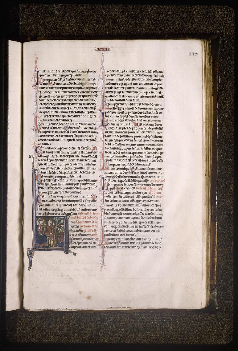 Lyon, Bibl. mun., ms. Palais des Arts 043, f. 230 - vue 1