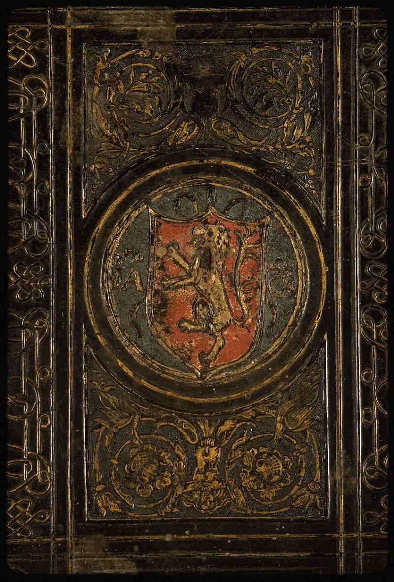 Lyon, Bibl. mun., ms. Palais des Arts 047, reliure plat sup. - vue 2
