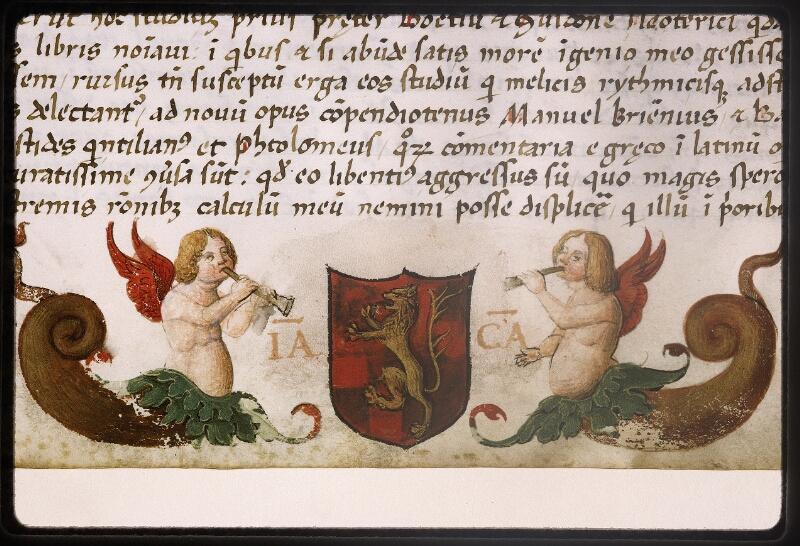 Lyon, Bibl. mun., ms. Palais des Arts 047, f. 003 - vue 8