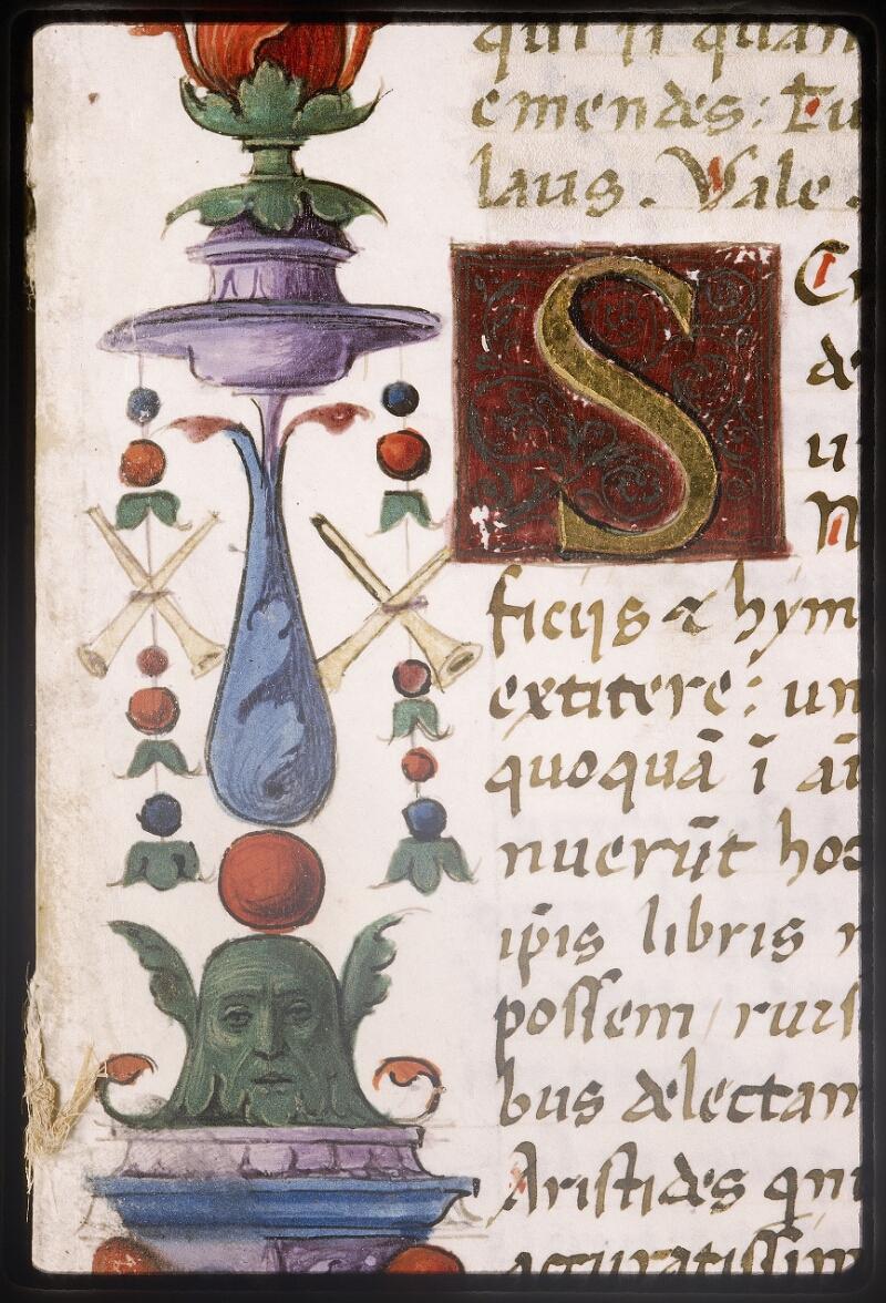 Lyon, Bibl. mun., ms. Palais des Arts 047, f. 003 - vue 9