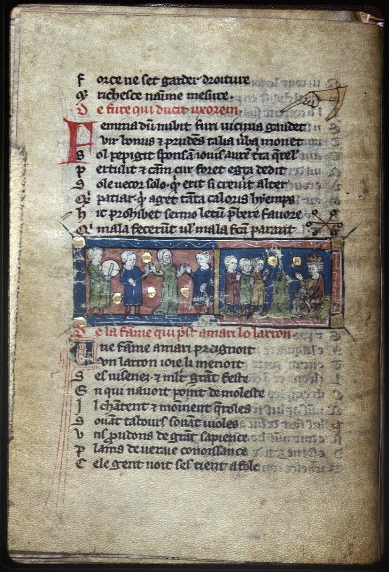Lyon, Bibl. mun., ms. Palais des Arts 057, f. 009v - vue 1
