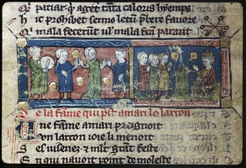 Lyon, Bibl. mun., ms. Palais des Arts 057, f. 009v - vue 2