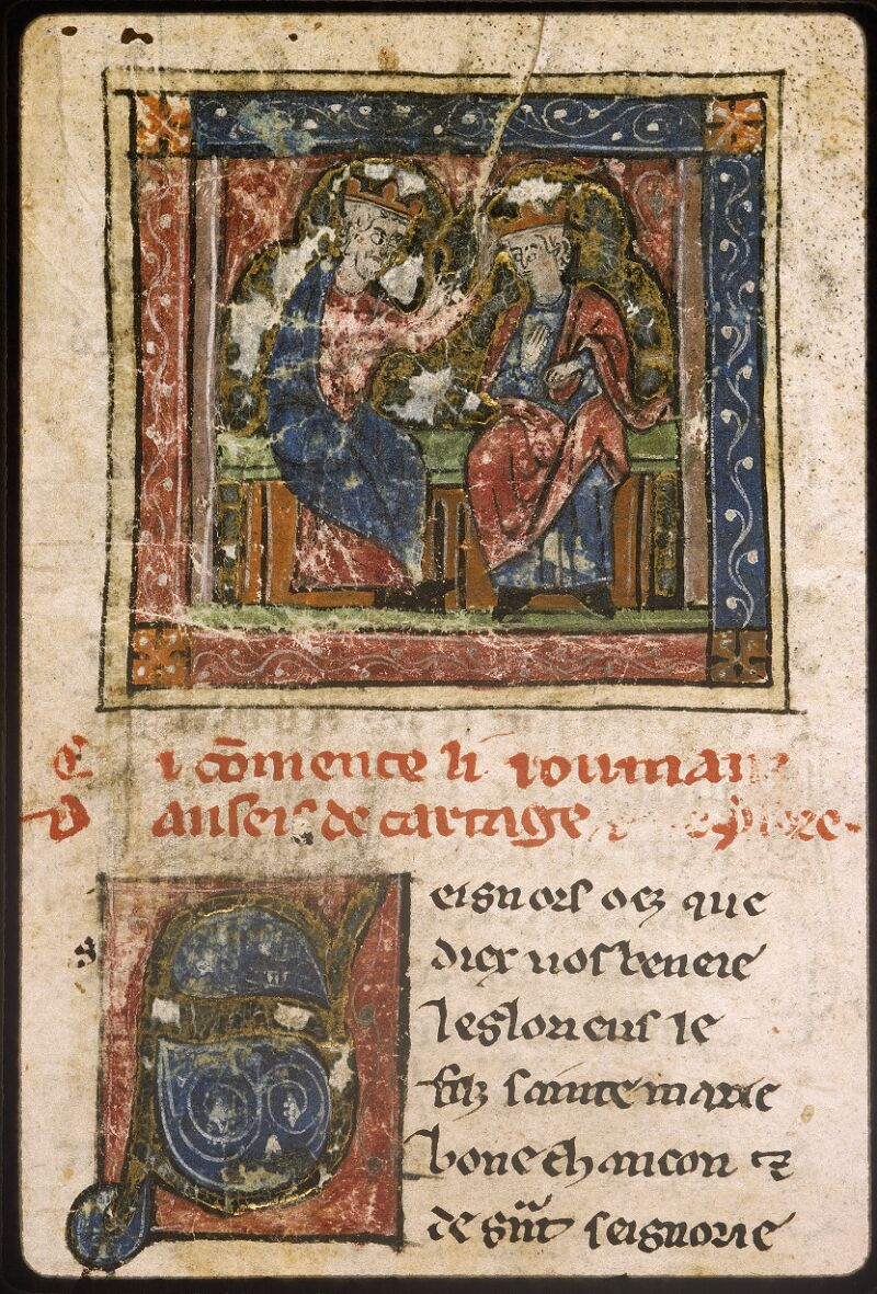 Lyon, Bibl. mun., ms. Palais des Arts 059, f. 001 - vue 3