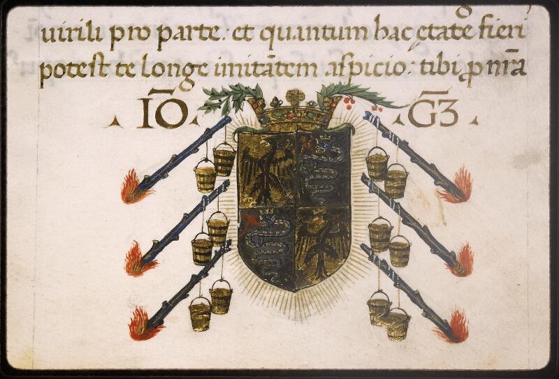 Lyon, Bibl. mun., ms. Palais des Arts 322, p. 001 - vue 3