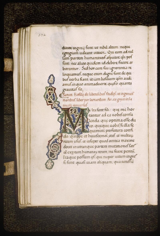 Lyon, Bibl. mun., ms. Palais des Arts 322, p. 134