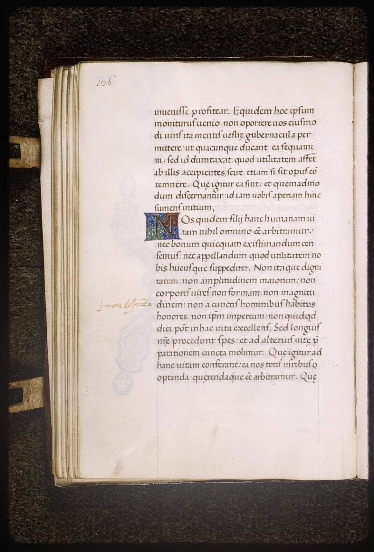 Lyon, Bibl. mun., ms. Palais des Arts 322, p. 136