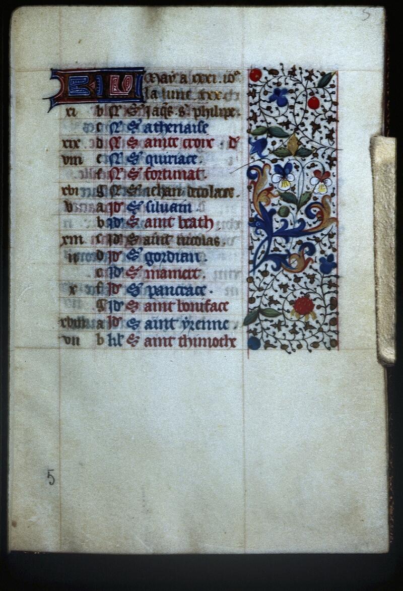 Lyon, Bibl. mun., ms. Palais des Arts 335, f. 005