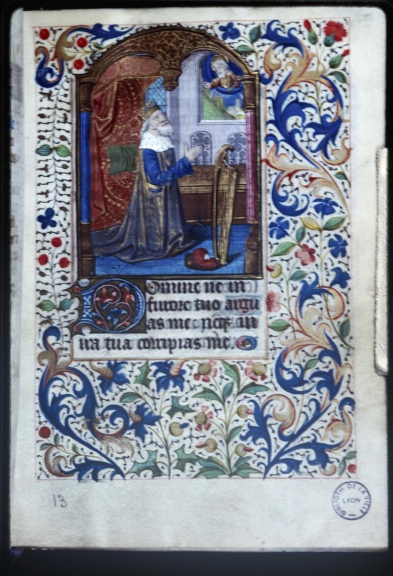 Lyon, Bibl. mun., ms. Palais des Arts 335, f. 013 - vue 1