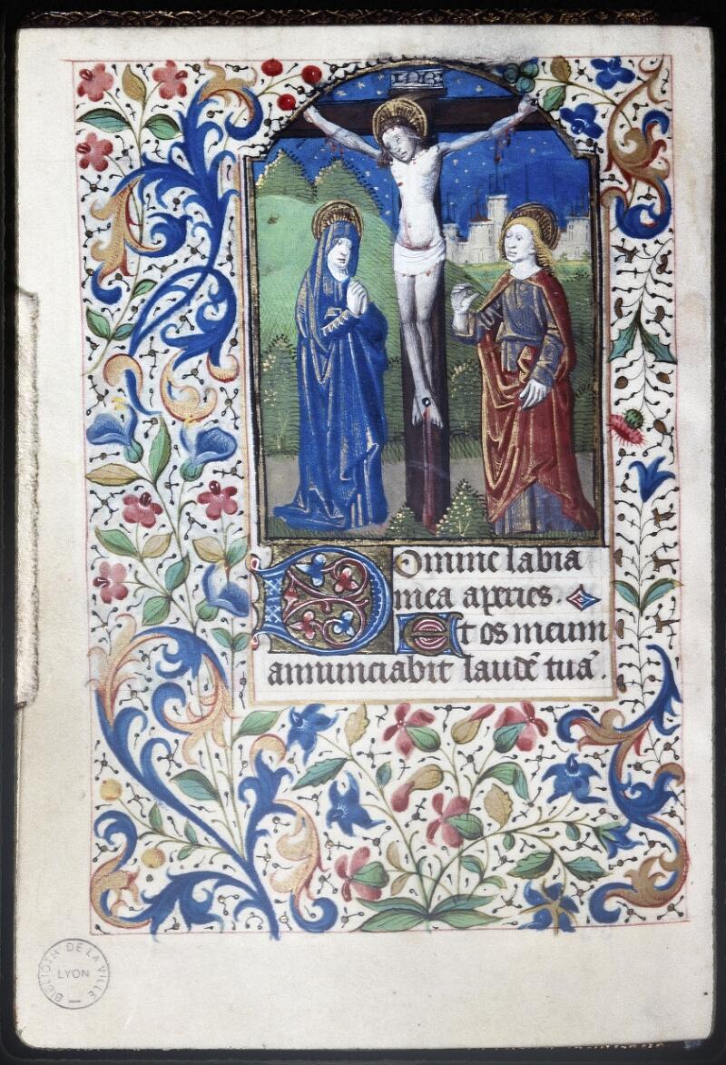 Lyon, Bibl. mun., ms. Palais des Arts 335, f. 033v - vue 1