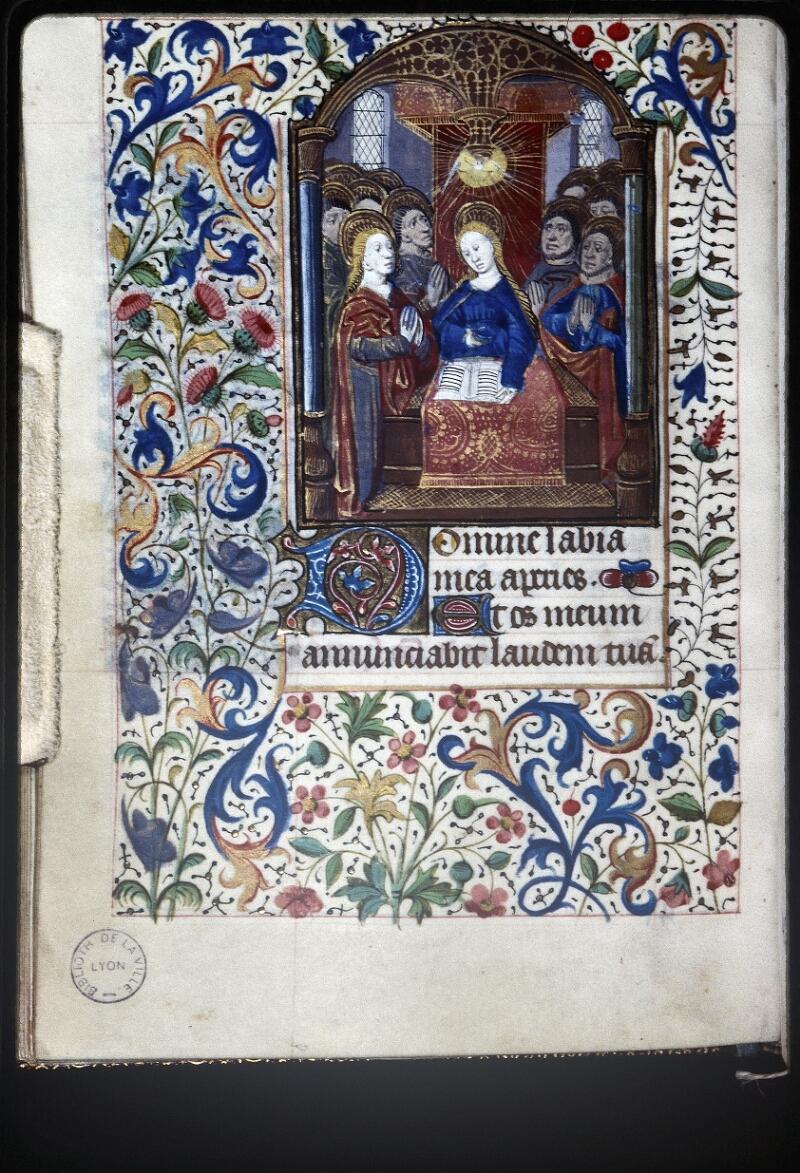 Lyon, Bibl. mun., ms. Palais des Arts 335, f. 041v - vue 1
