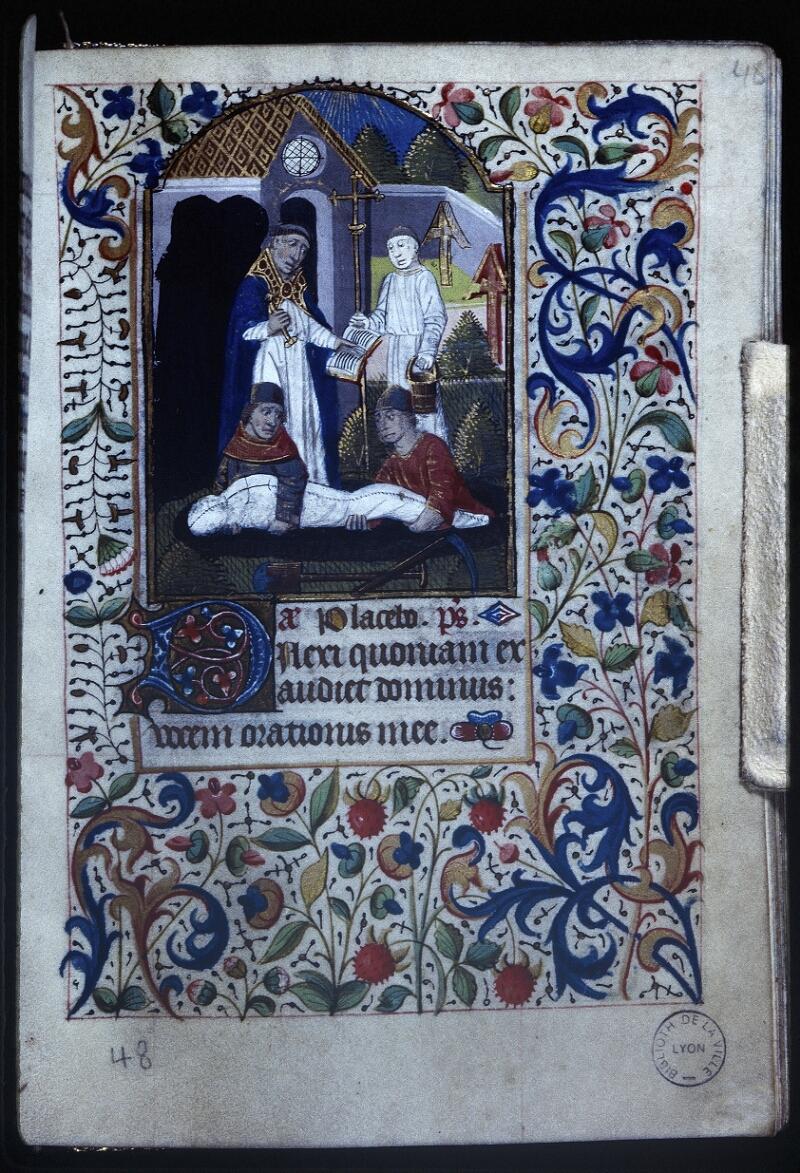 Lyon, Bibl. mun., ms. Palais des Arts 335, f. 048 - vue 1