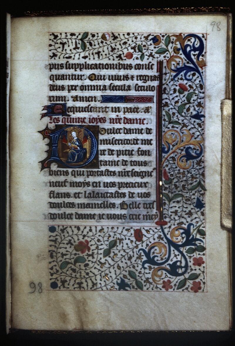 Lyon, Bibl. mun., ms. Palais des Arts 335, f. 098 - vue 1