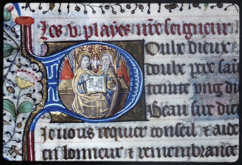 Lyon, Bibl. mun., ms. Palais des Arts 335, f. 103v - vue 2