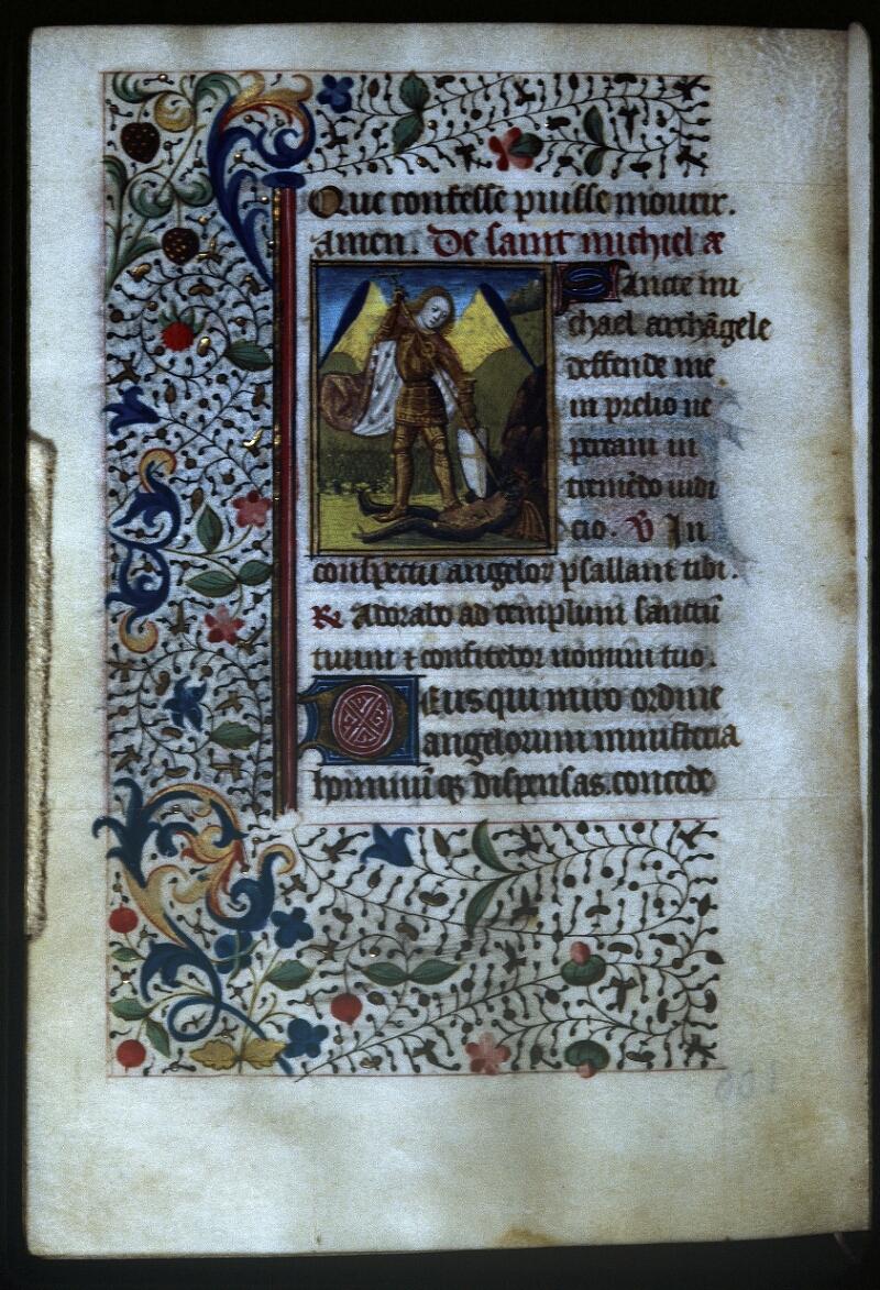 Lyon, Bibl. mun., ms. Palais des Arts 335, f. 106v - vue 1