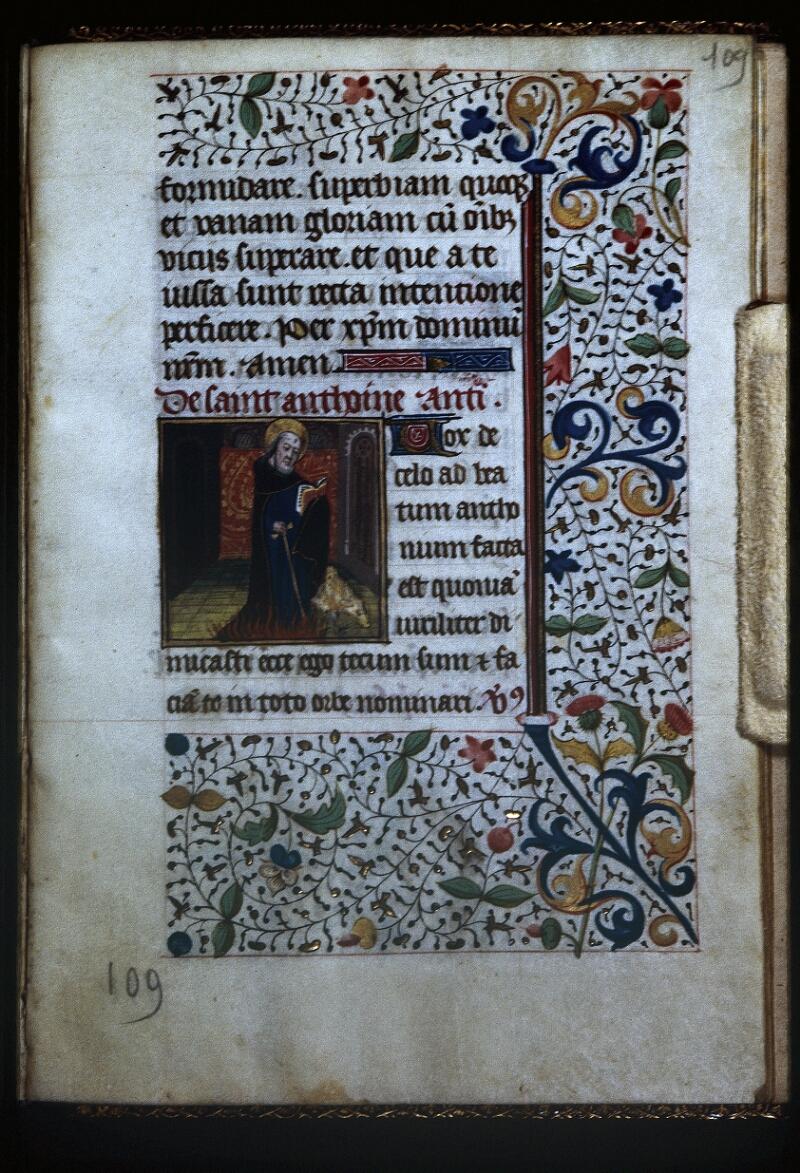 Lyon, Bibl. mun., ms. Palais des Arts 335, f. 109 - vue 1