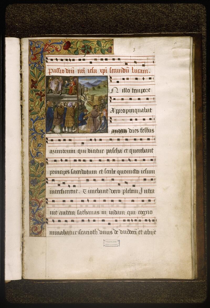 Lyon, Bibl. mun., ms. Palais des Arts 348, f. 037 - vue 1