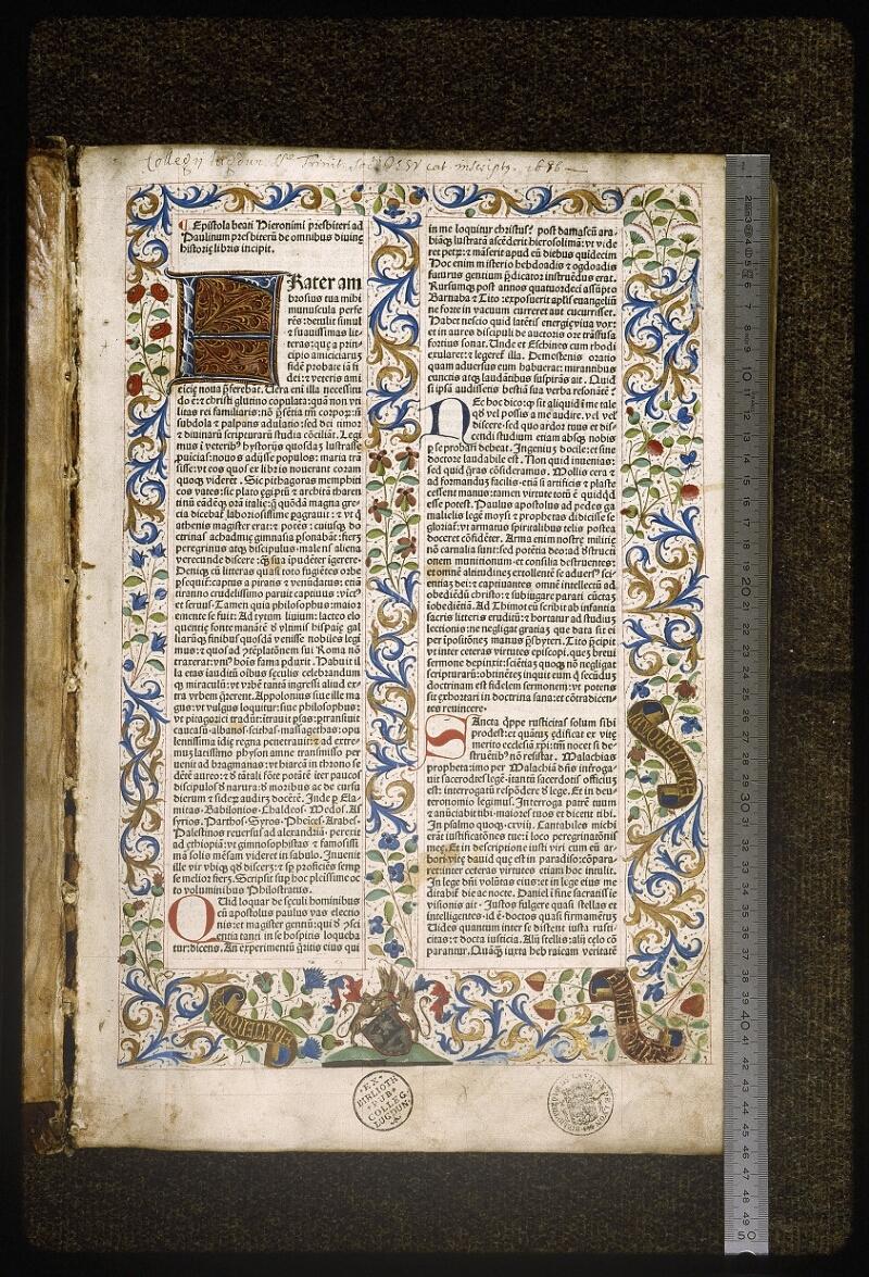 Lyon, Bibl. mun., inc. 0020 - vue 01