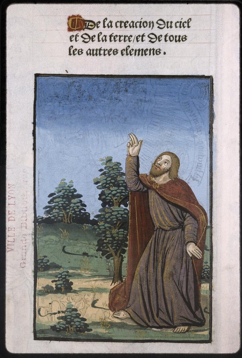 Lyon, Bibl. mun., inc. 0057, f. 001v