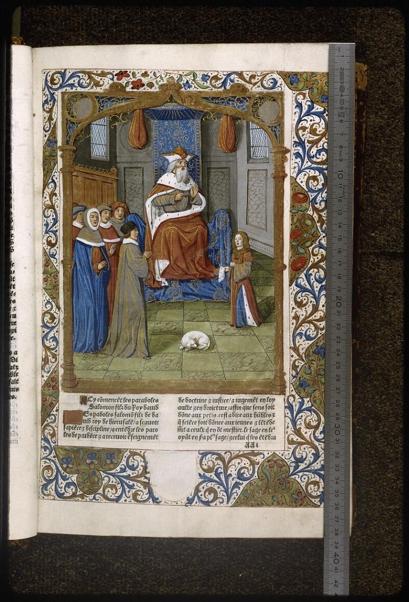 Lyon, Bibl. mun., inc. 0058, f. 001 - vue 1