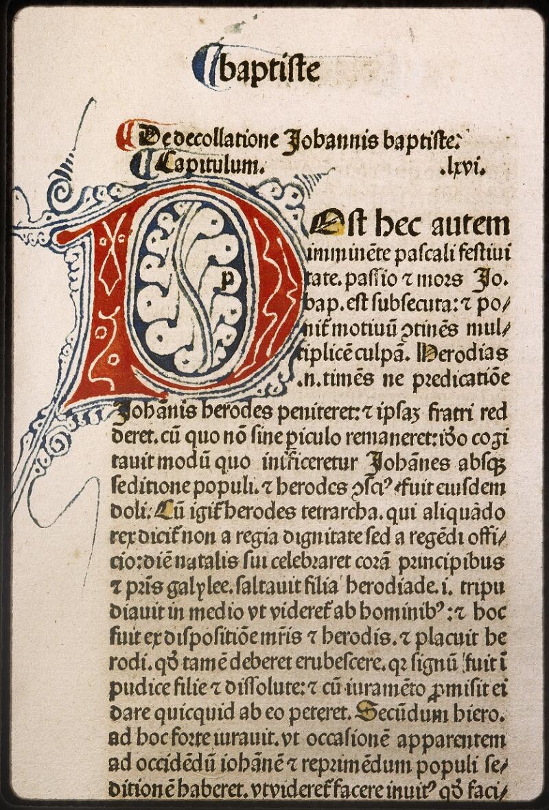 Lyon, Bibl. mun., inc. 0076, f. v 8