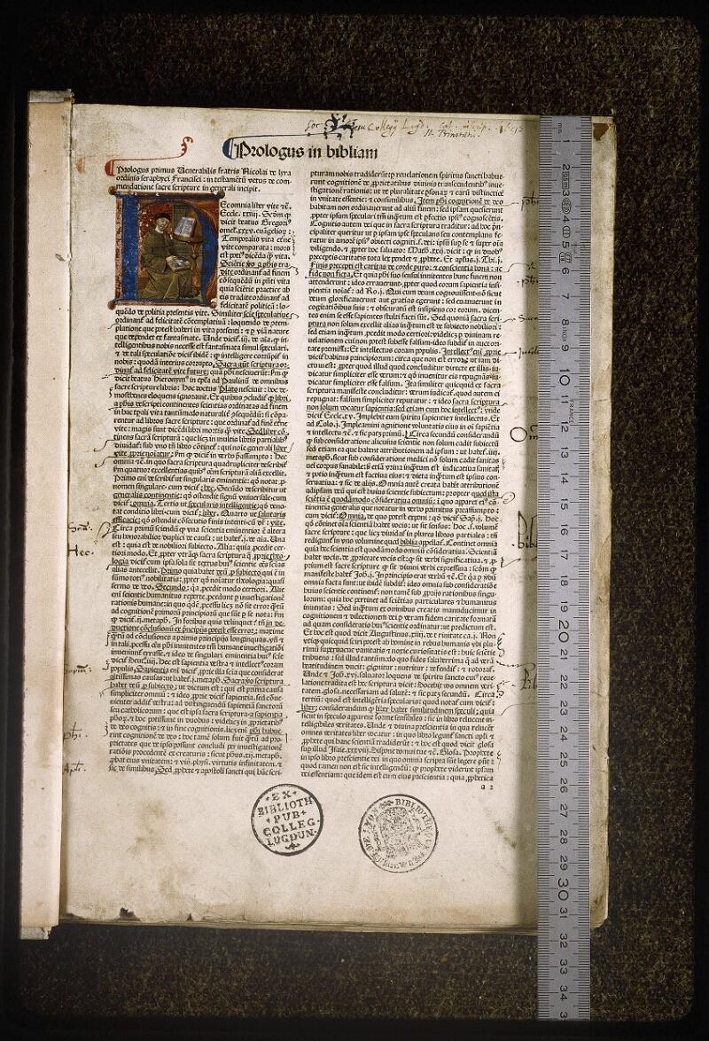 Lyon, Bibl. mun., inc. 0077, f. 001 - vue 1