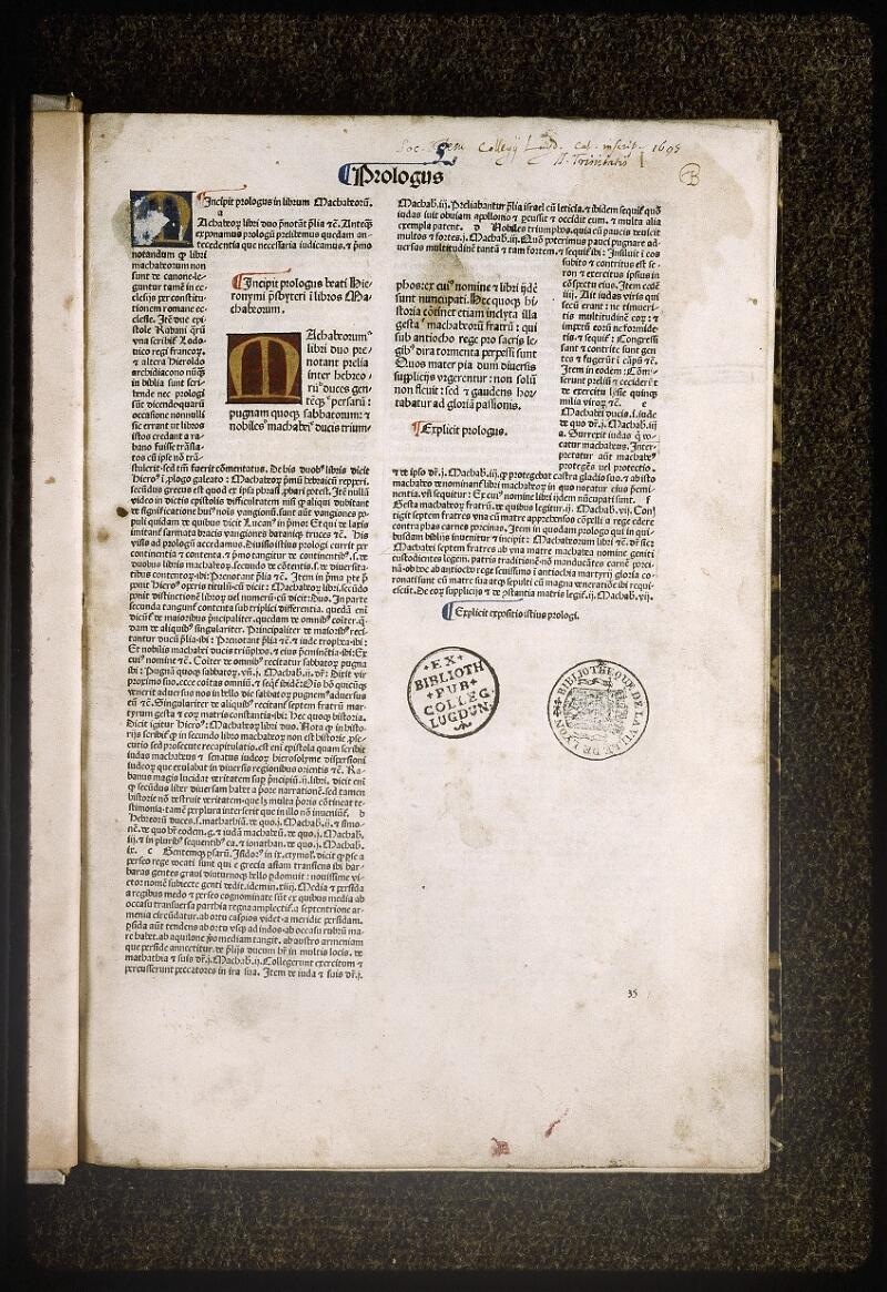 Lyon, Bibl. mun., inc. 0079, f. 001 - vue 2