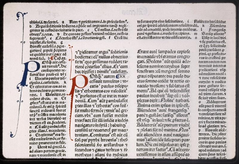 Lyon, Bibl. mun., inc. 0079, f. 291v
