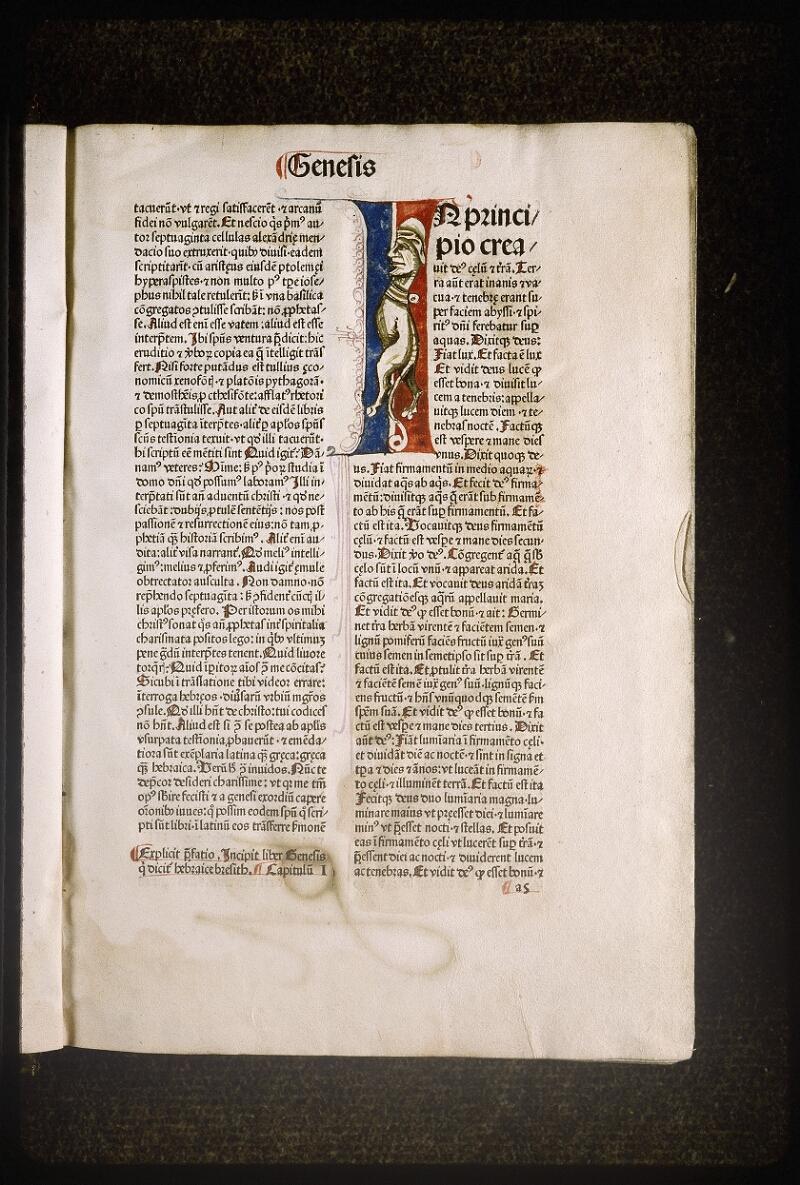 Lyon, Bibl. mun., inc. 0083, f. a 5 - vue 1