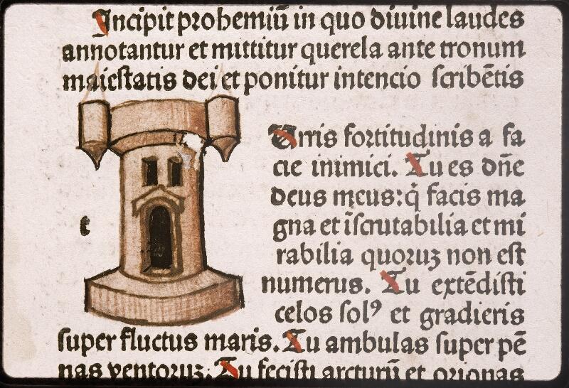 Lyon, Bibl. mun., inc. 0164, cahier 2, f. a 1 - vue 3