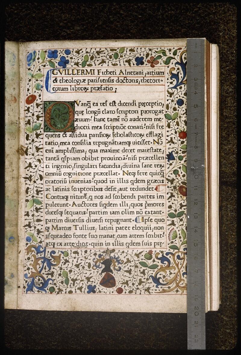 Lyon, Bibl. mun., inc. 0371, f. 001 - vue 1