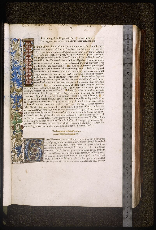 Lyon, Bibl. mun., inc. 0395, cahier 3 - vue 1