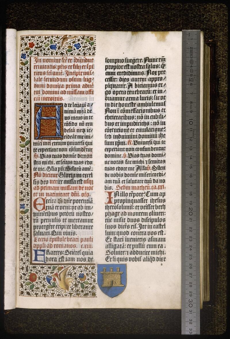 Lyon, Bibl. mun., inc. 0401, f. 011 - vue 1